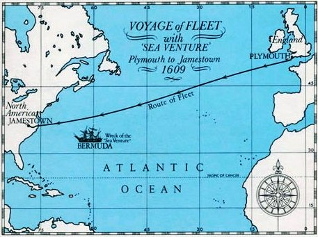 Did the wreck of the Sea Venture inspire The Tempest?