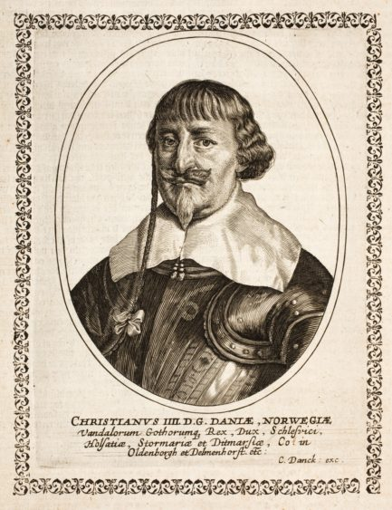 Did Shakespeare meet Christian IV of Denmark?