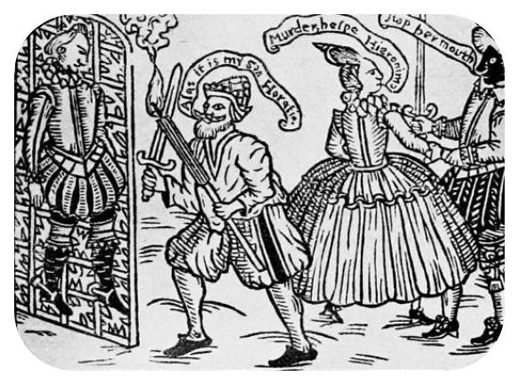 How did Elizabethan sumptuary laws affect Shakespeare's playing company?