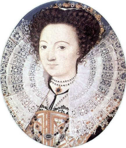 Was this the face of the 'dark lady' of the sonnets?